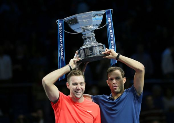 Sock and Bryan Save Championship Point to Win ATP Finals Title