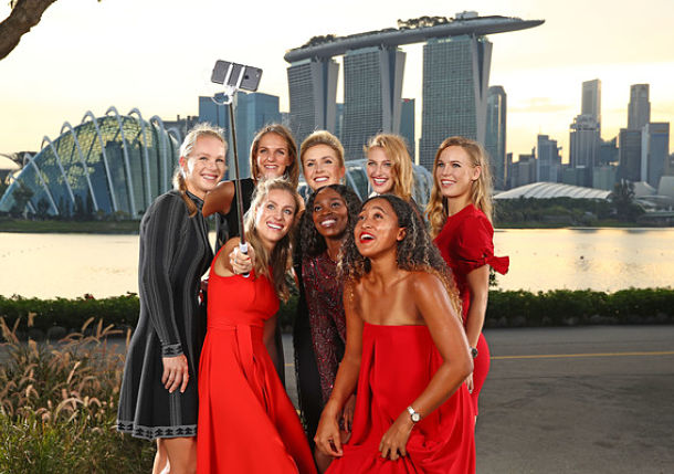 Winners, Losers, Notes and Quotes from WTA Finals Draw