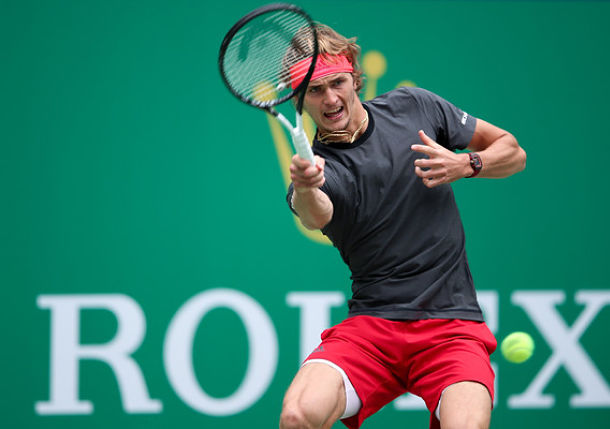 Zverev Outs Basilashvili to Take a Step Closer to London