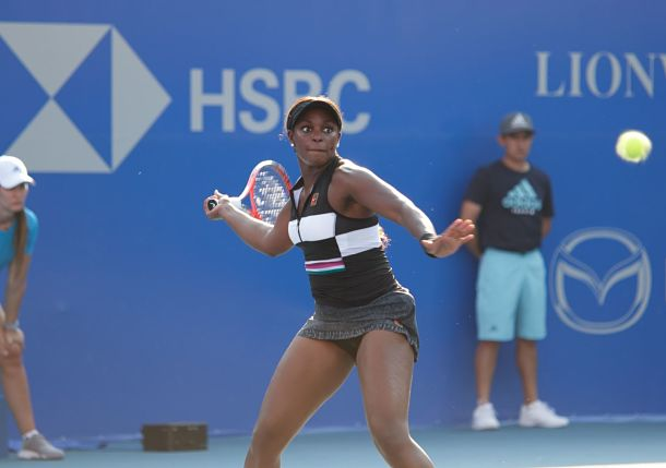 Top-Seeded Sloane Stephens Powers Through in Acapulco