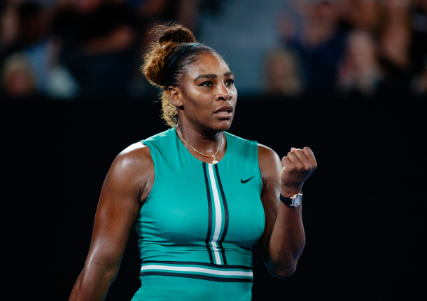 Serena Williams Survives No.1-Seeded Simona Halep at Aussie Open