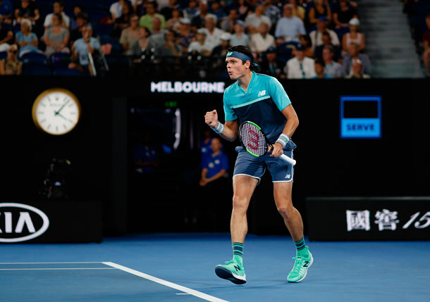 Raonic Takes Chances and Delivers Clutch Win over Wawrinka