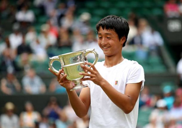 Shintaro Mochizuki Becomes First Boys Champion from Japan at Wimbledon