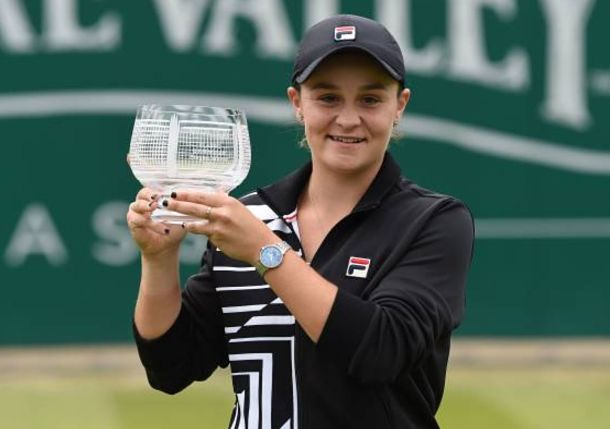 Ash Barty Wins Birmingham and Claims WTA's No.1 Ranking