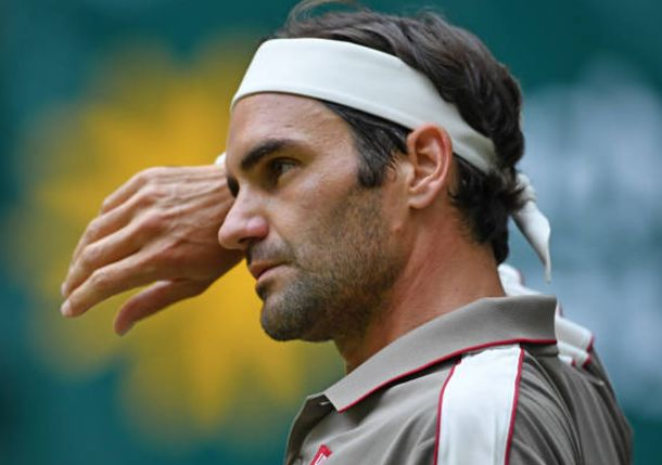 Federer Squeaks by Bautista Agut and into 15th Halle Semi-Final