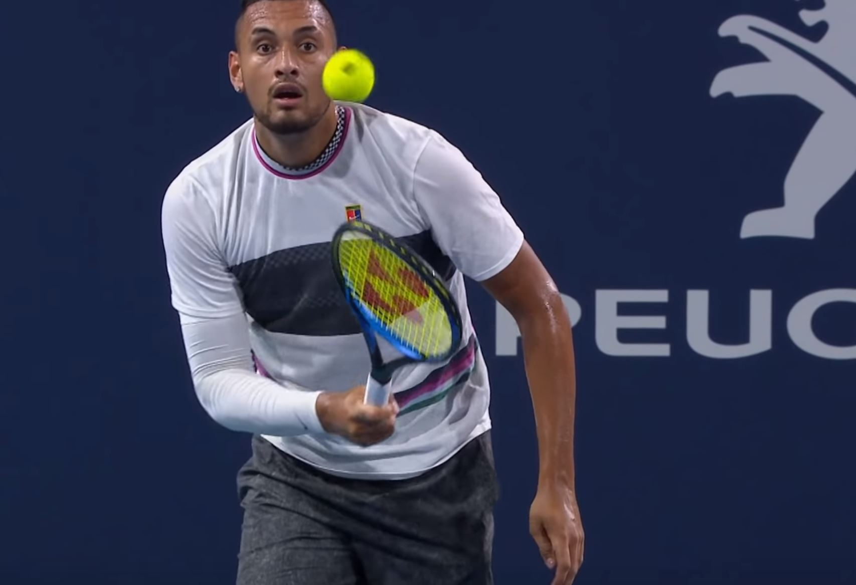 The King of the Underhand Serve? Nick Kyrgios