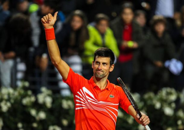 Djokovic Fights off Schwartzman to Set Nadal Clash in Rome