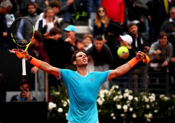 Nadal Powers Past Tsitsipas to Reach Rome Final