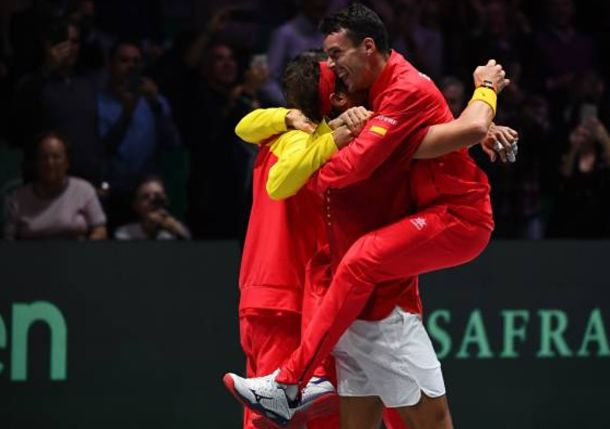 Nadal and Grieving Bautista Agut Lock Down Davis Cup 2019 for Spain