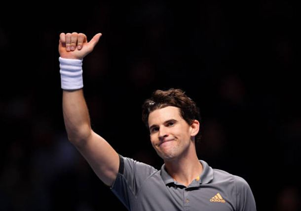 Thiem Topples Federer in Critical Round Robin Match at ATP Finals