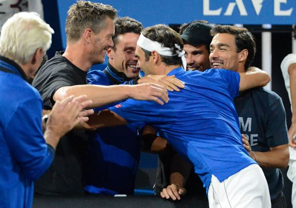 World Collapses and Europe Wins Laver Cup
