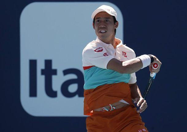 Nishikori Stunned by Lajovic, Looking Forward to Clay