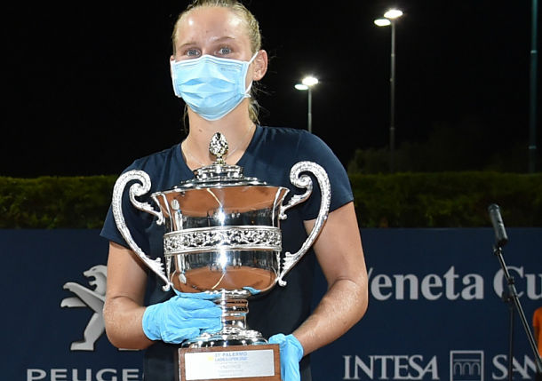 Fiona Ferro Wins Palermo to Cap WTA's Resumption Week