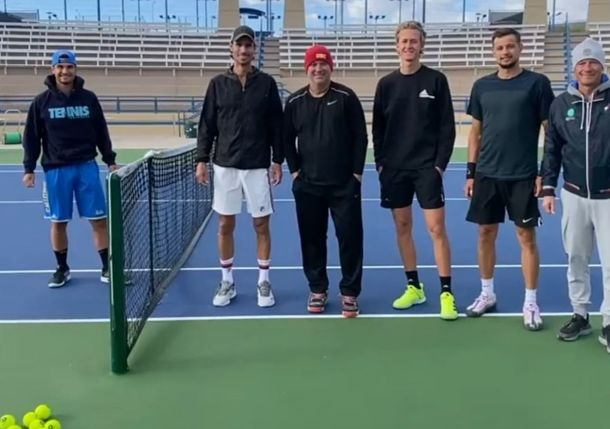 Sebastian Korda Coached by Andre Agassi?