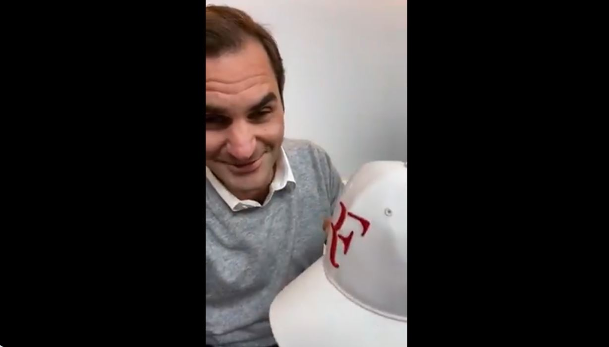 Federer's RF Logo is Back in His Possession