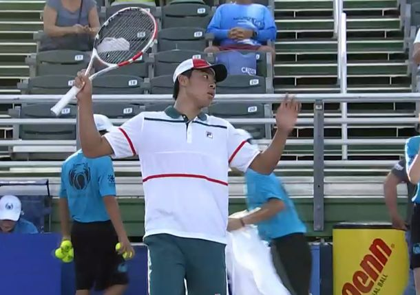 18-Year-Old Brandon Nakashima Reaches Delray Quarterfinals on ATP Debut
