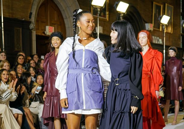 Dream Realized as Naomi Osaka's Fashion Collection Hits NYC Runway