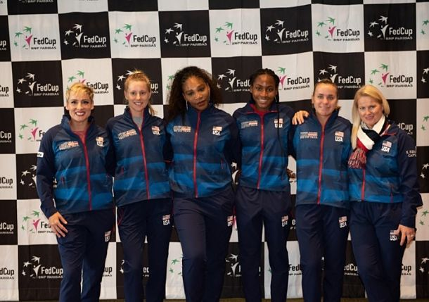 Kenin and Mattek-Sands Clinch Fed Cup Final Berth for Team USA