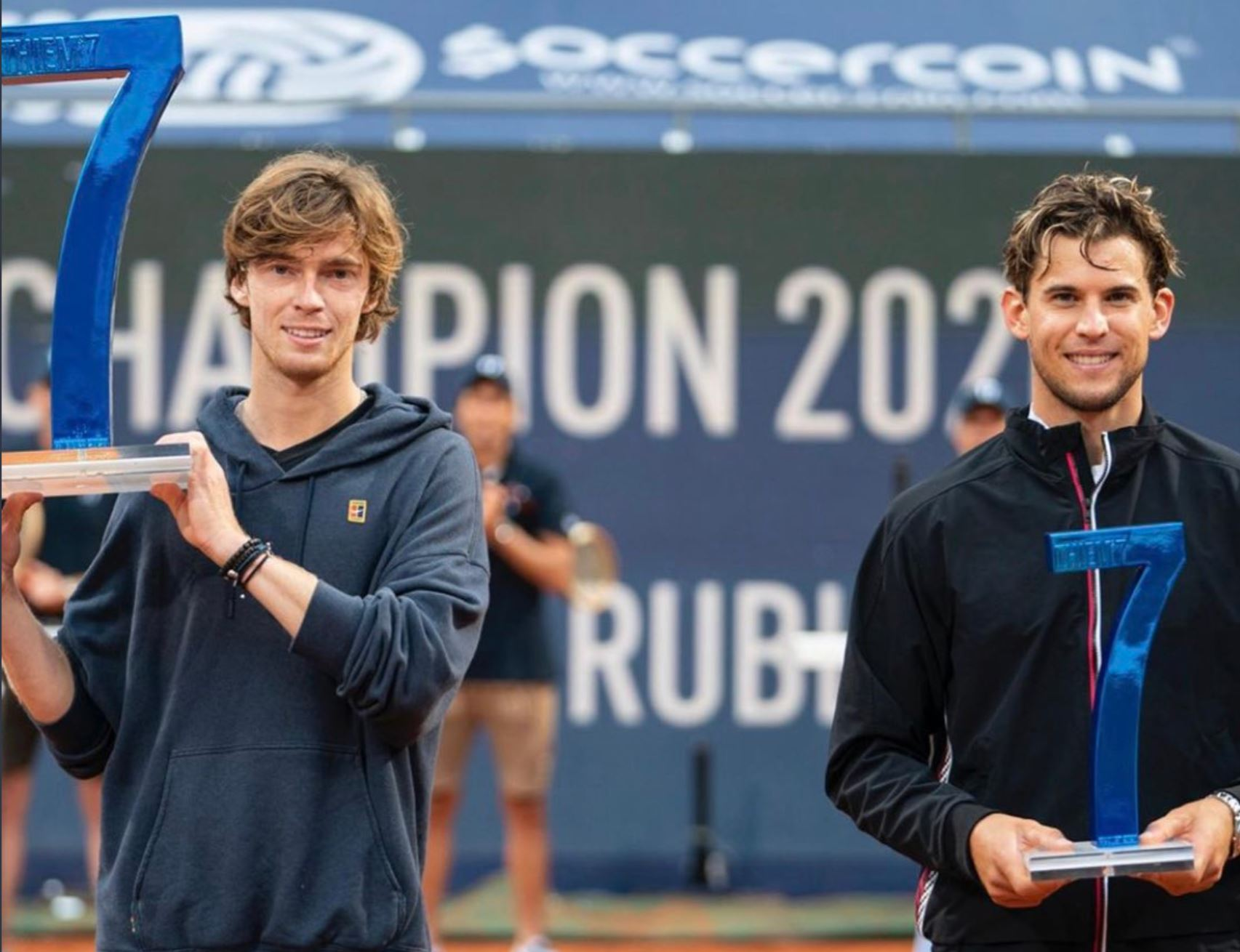 Rublev Defeats Thiem for Thiem7 Title