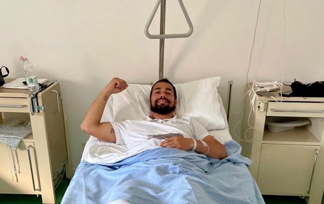 Fognini Recovering from Double Ankle Surgery