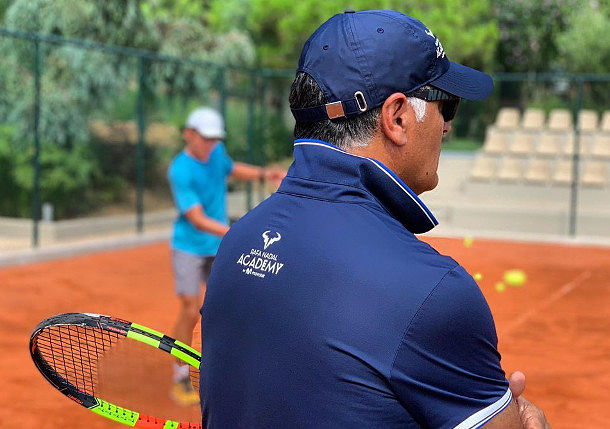 Training with Toni Nadal in Costa Mujeres