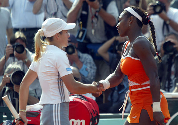 Justine Henin and Simona Halep Break Down Serena Fear Factor