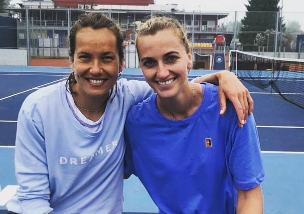 Social Flex: Tennis Players Happy to Hit the Courts Again