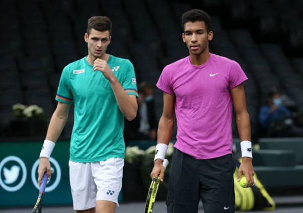 Auger-Aliassime and Hurkacz Cap Paris Run with Miracle Finish