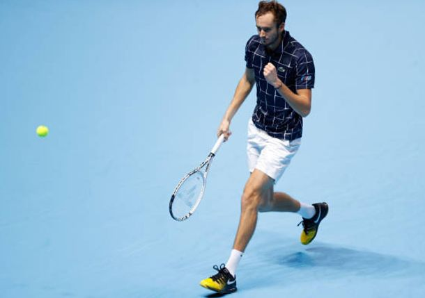 Medvedev Magic: Russian Powers Past Djokovic to Qualify for Semis in London
