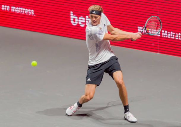 Zverev Leads Trio of Top Seeds into Cologne Semis