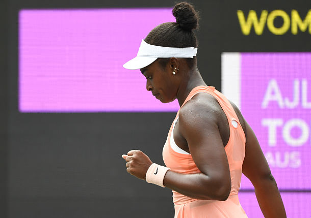 Sloane Stephens, through Personal Tumult, Leads by Example