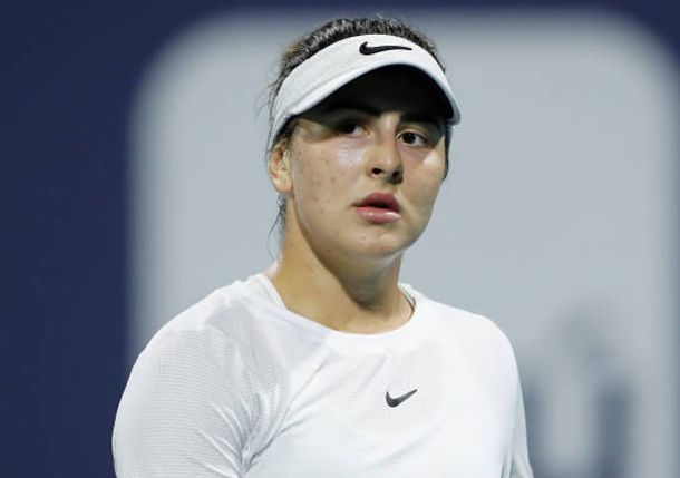 Teary Andreescu Says Trainer Sillah Saved Her from Herself in Miami Final