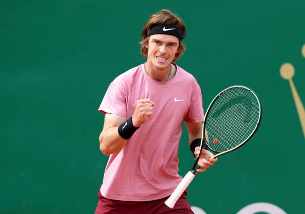 Rublev Rolls Past Ruud to Set Monte-Carlo Final with Tsitsipas
