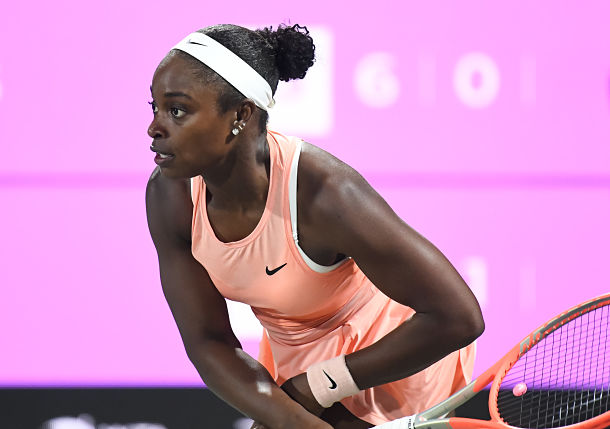Sloane Stephens: Finding her Game, Finding her Zen in Charleston