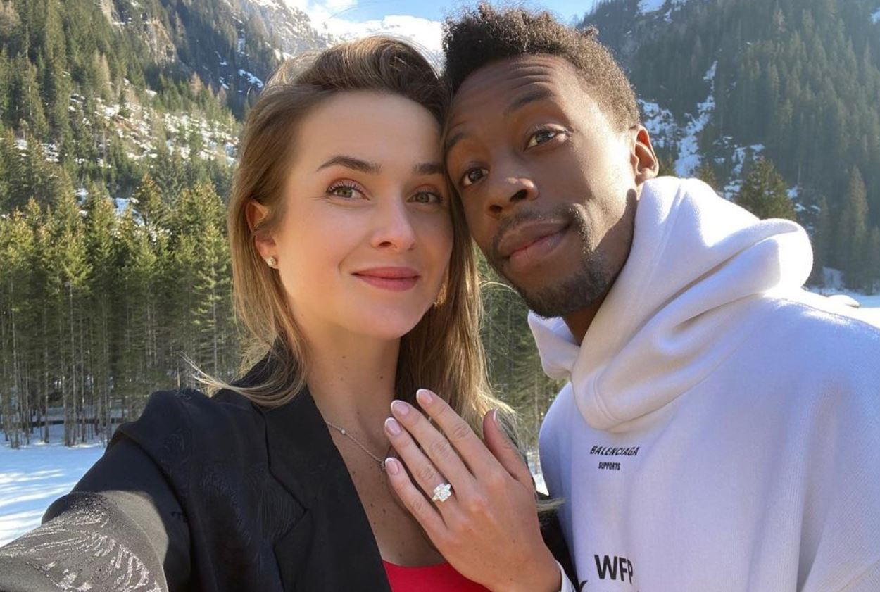 They're Engaged! Elina Svitolina and Gael Monfils to Be Married