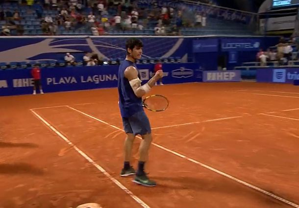 18-Year-Old Alcaraz Becomes Umag's Youngest Semifinalist Since Nadal in 2003