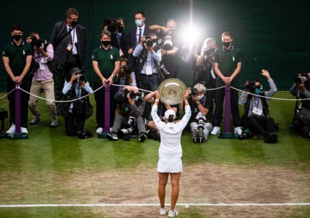 Twitter Reacts to Ash Barty's Wimbledon Title