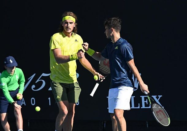 All in the Family: Stefanos Tsitsipas and Brother Petros Playing for More than Wins and Losses on Doubles Court