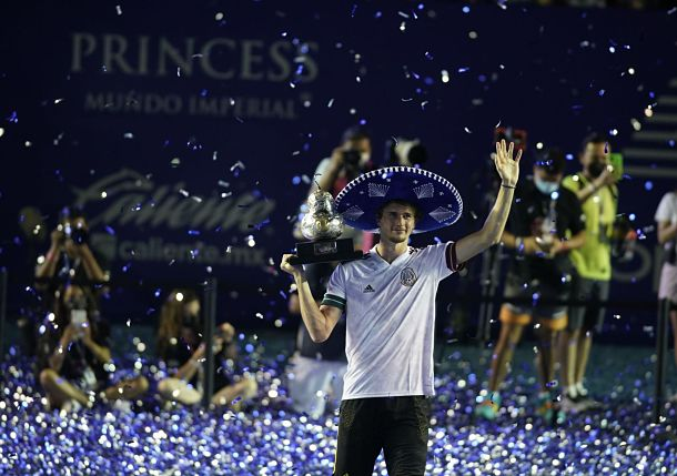 Zverev Wears the Sombrero in Acapulco, Claims Title No.14