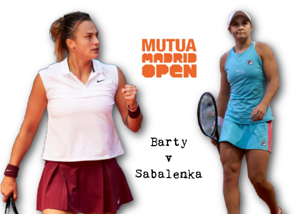 Five Thoughts on Barty v Sabalenka Madrid Final