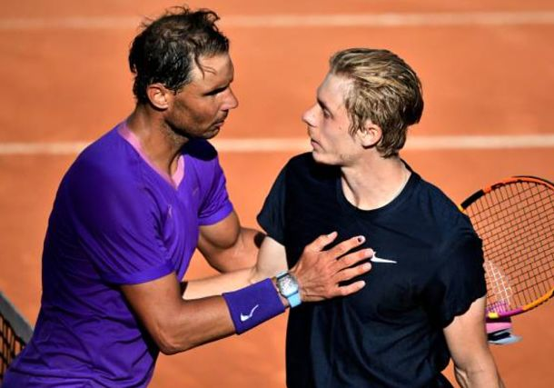 Nadal Never Say Die: Rafa Saves Match Points vs. Shapovalov in Rome