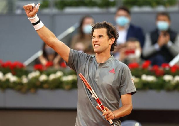 Refreshed Thiem Returns with a Vengeance in Madrid