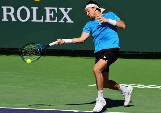 Casper Ruud Continues to Show Why He's Now a Top-10 Player at Indian Wells