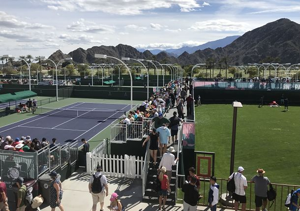 Heavier Balls, Drier Air, Heat and Slow Courts: Indian Wells in October Not Quite Like other Years