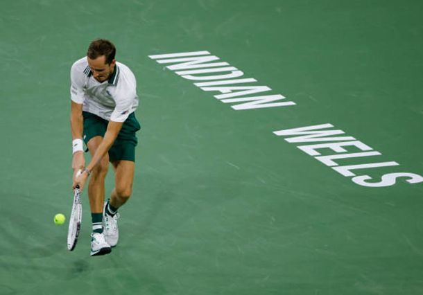 Medvedev Comes out Firing with Inspired Performance at Indian Wells