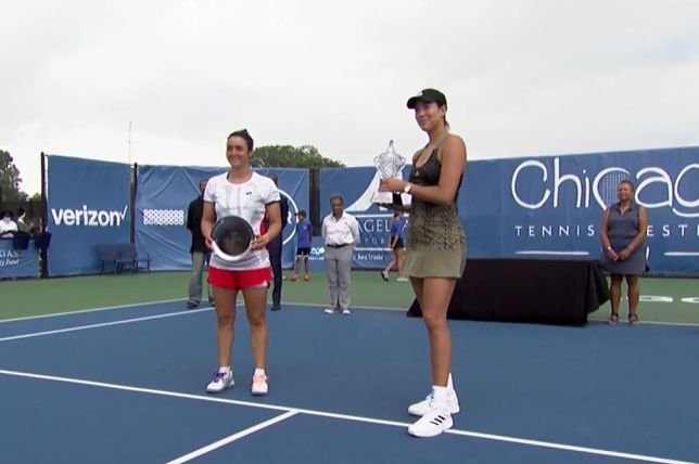 Muguruza Storms Past Jabeur in Chicago for 9th Career Title