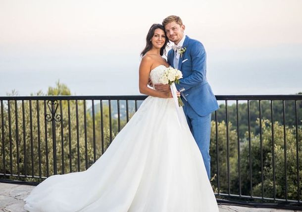 David Goffin is Married!