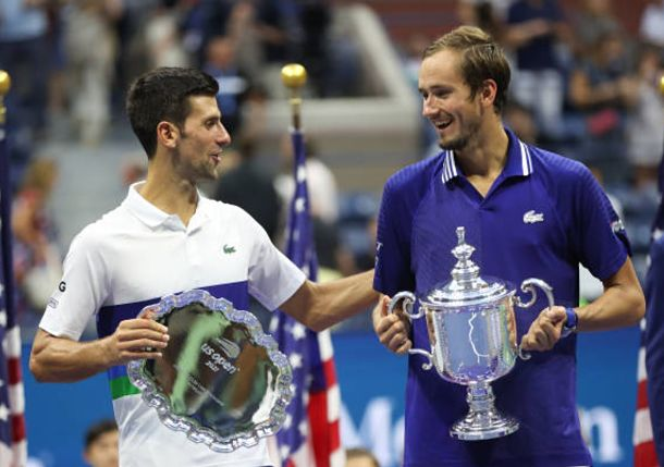 Medvedev to Djokovic: For me, You are the Greatest Player in History