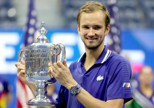 Worried Daniil Medvedev Was Cramping As He Closed Out the 2021 US Open Title