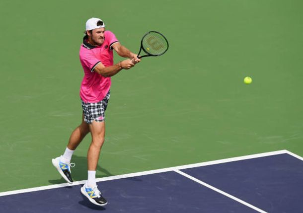 A Surprise Victory for Tommy Paul, Who Tops Andrey Rublev at Indian Wells